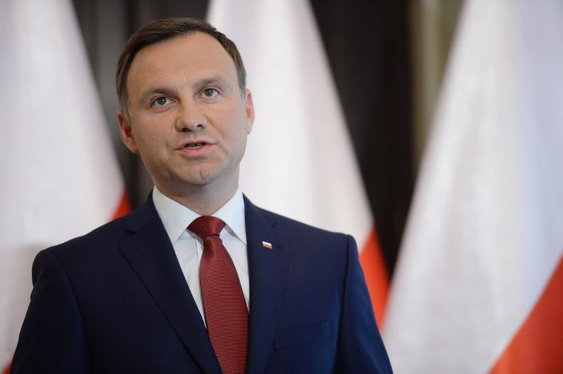 Andrzej Duda będzie stawiał Niemcom warunki? /Jacek Turczyk /PAP