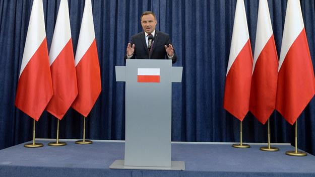 """Andrzej Duda chce zmian w KRS i zapowiada: """"Nie podpiszę ustawy o Sądzie Najwyższym, dopóki..."""""""