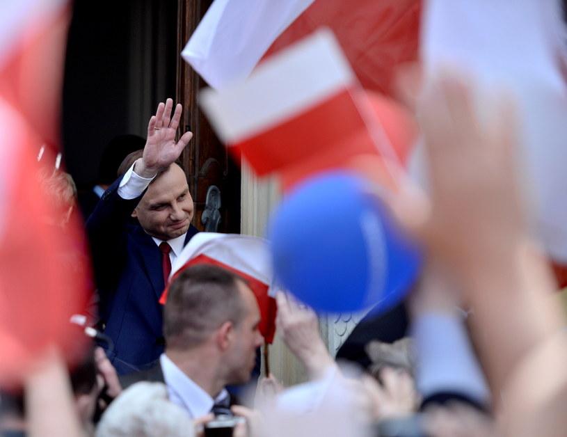 Andrzej Duda chwalony w zagranicznej prasie /Jacek Turczyk /PAP