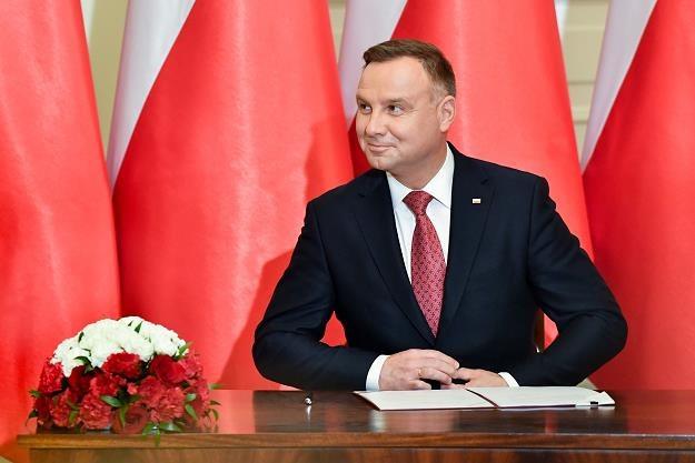 Andrzej Duda /fot. Wojciech Strozyk /Reporter