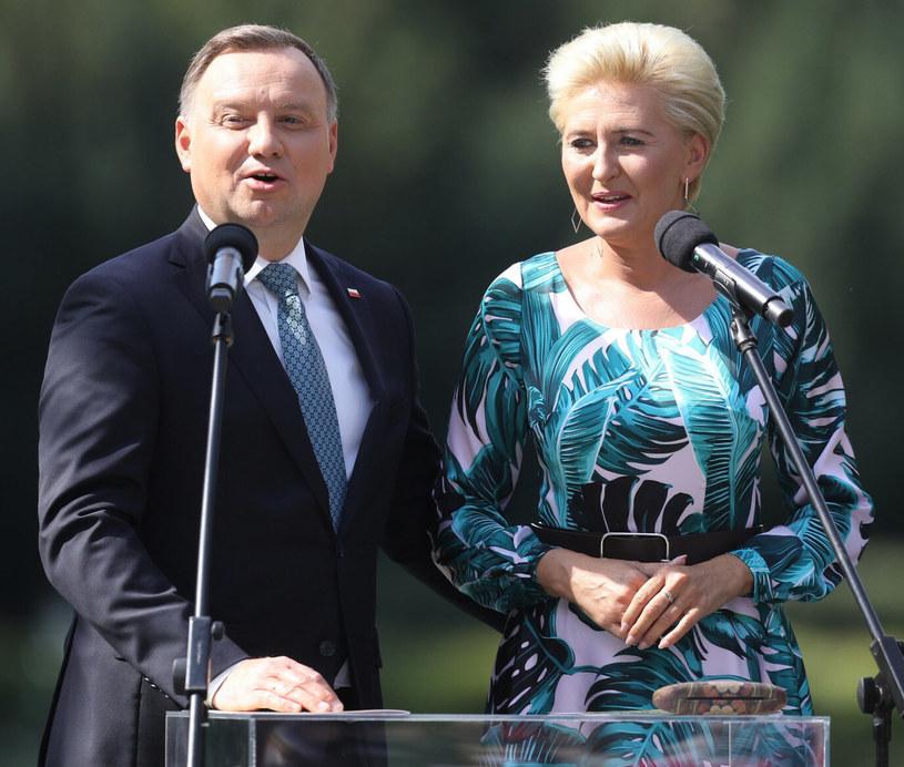 Andrzej Duda i Agata Duda /Tomasz Jastrzębowski /Reporter
