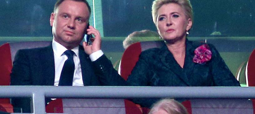 Andrzej Duda i Agata Duda /Damian Klamka /East News