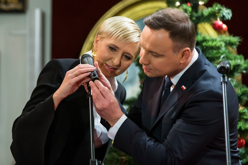 Andrzej Duda i Agata Kornhauser Duda /Michał Woźniak /East News