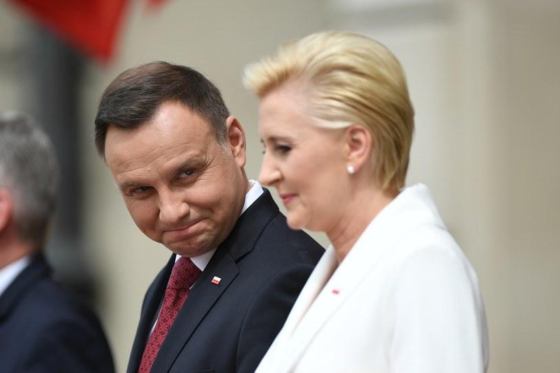 Andrzej Duda i Agata Kornhauser-Duda /EastNews /Reporter