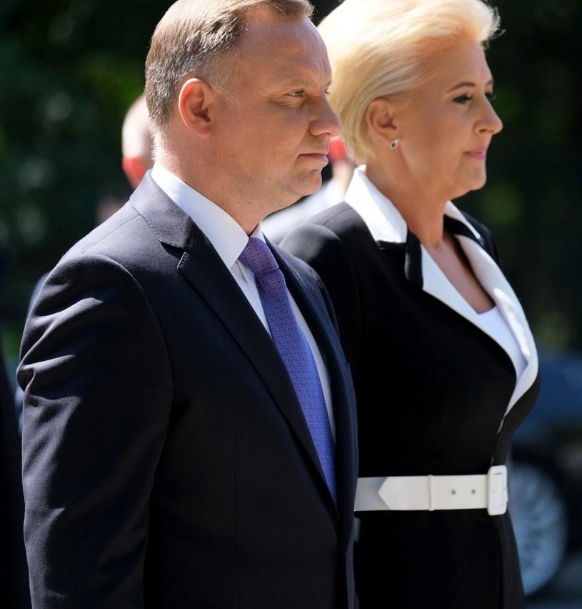 Andrzej Duda i Agata Kornhauser-Duda /Mateusz Grochocki /East News