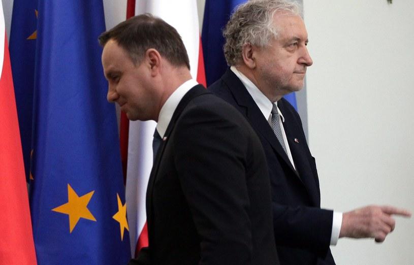 Andrzej Duda i Andrzej Rzepliński /Sławomir Kamiński /