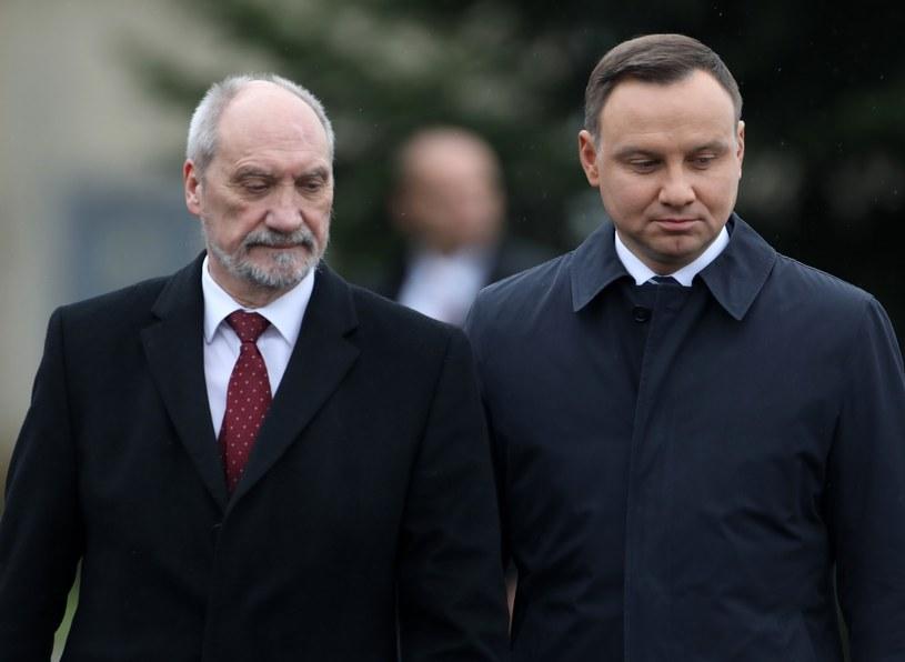 Andrzej Duda i Antoni Macierewicz /STANISLAW KOWALCZUK /East News