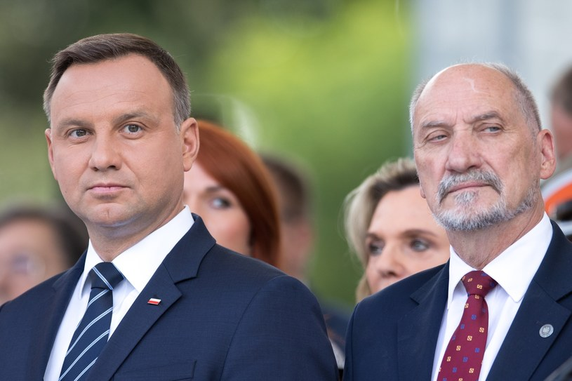 Andrzej Duda i Antoni Macierewicz /fot. Andrzej Iwanczuk /Reporter