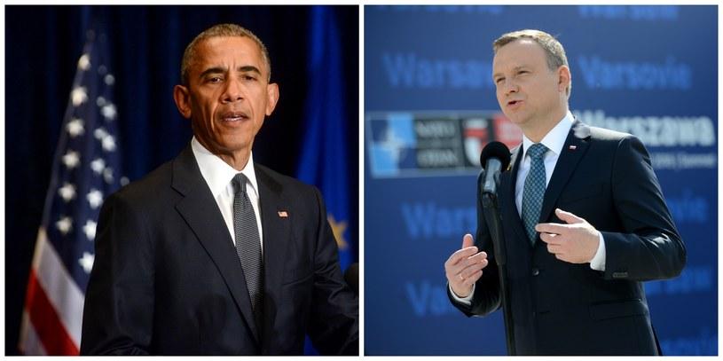 Andrzej Duda i Barack Obama /Jakub Kamiński/Jacek Turczyk  /PAP/EPA