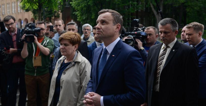 Andrzej Duda i Beata Szydło /Jakub Kamiński   /PAP