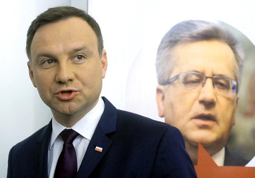 Andrzej Duda i Bronisław Komorowski /Jan Bielecki /East News