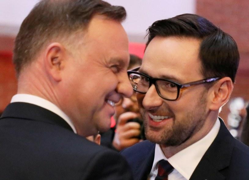 Andrzej Duda i Daniel Obajtek /Jakub Kaminski/East News /East News
