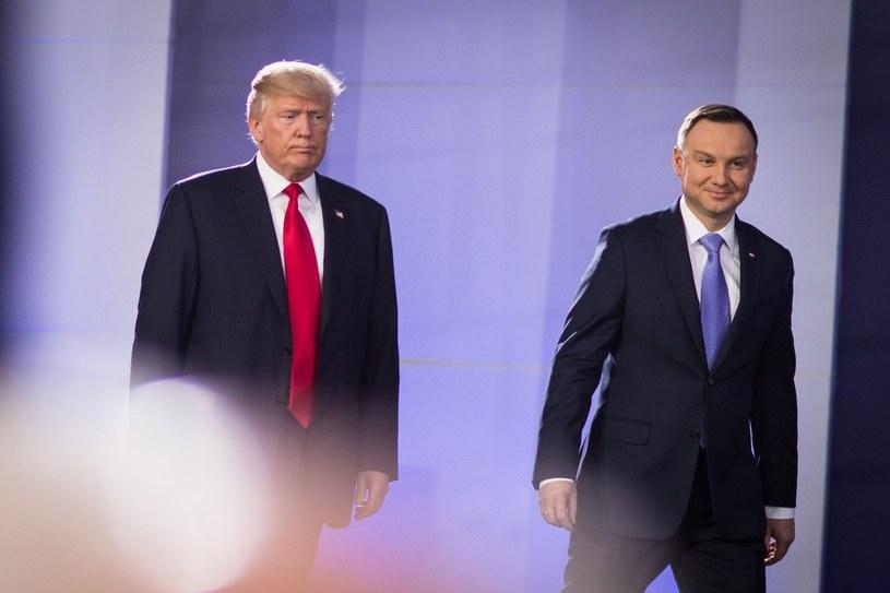 Andrzej Duda i Donald Trump /Xinhua News Agency / eyevine /East News