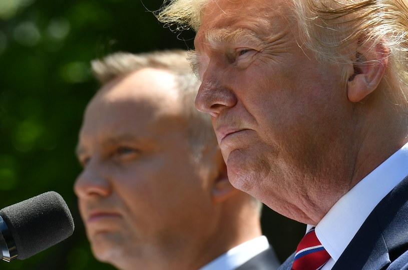 Andrzej Duda i Donald Trump /MANDEL NGAN / AFP /AFP