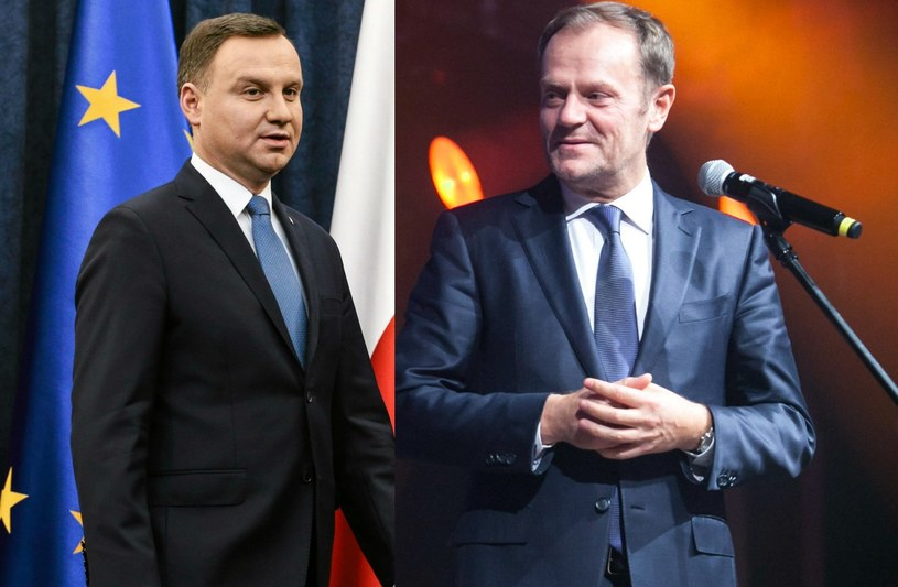 Andrzej Duda i Donald Tusk, fot. Adam Stępień/Jakub Ociepa /