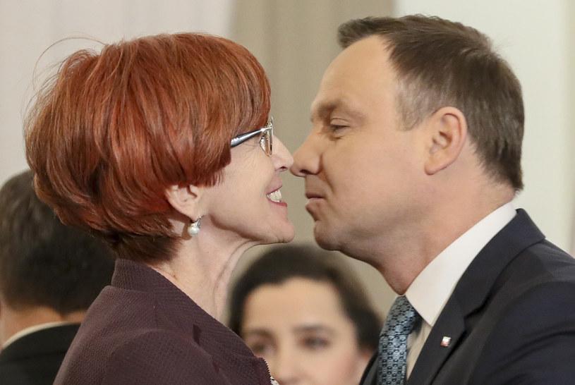 Andrzej Duda i Elżbieta Rafalska /Andrzej Iwańczuk /Reporter