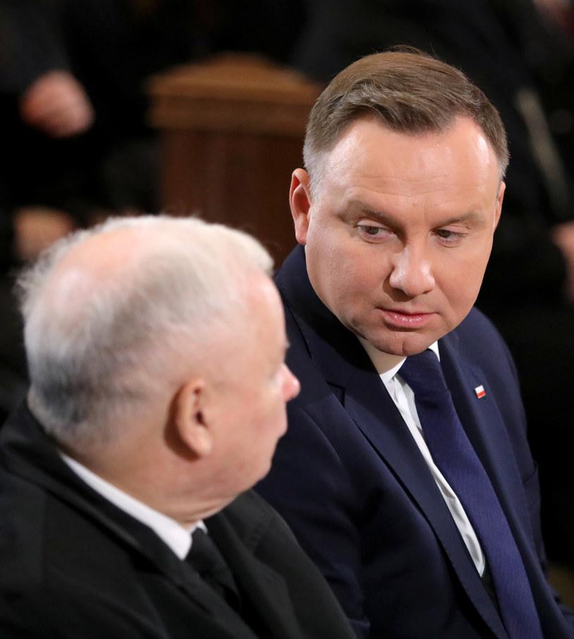 Andrzej Duda i Jarosław Kaczyński /Piotr Molecki /East News