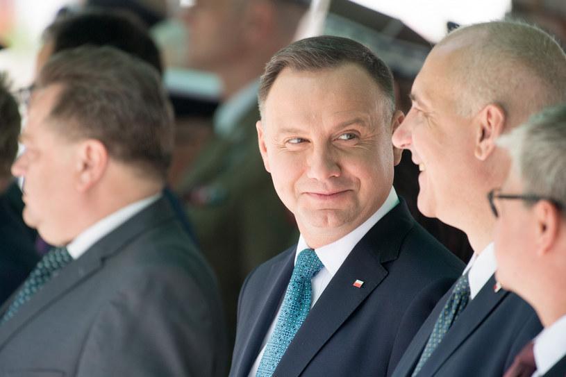 Andrzej Duda i Joachim Brudziński / Wojciech Stróżyk  /Reporter