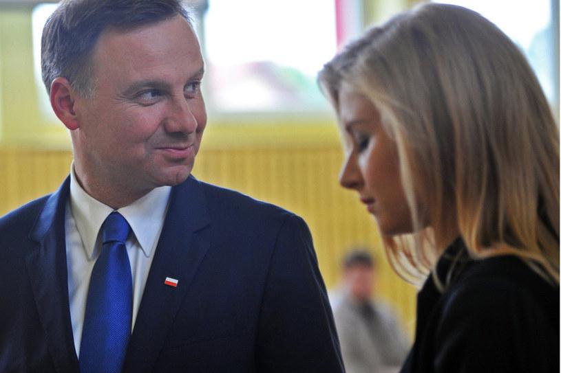 Andrzej Duda i Kinga /- /East News