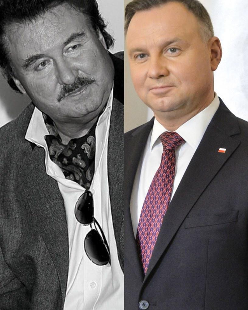 Andrzej Duda i Krzysztof Krawczyk /AKPA /AKPA