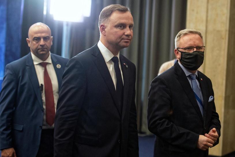 Andrzej Duda i Krzysztof Szczerski /Andrzej Lange /PAP