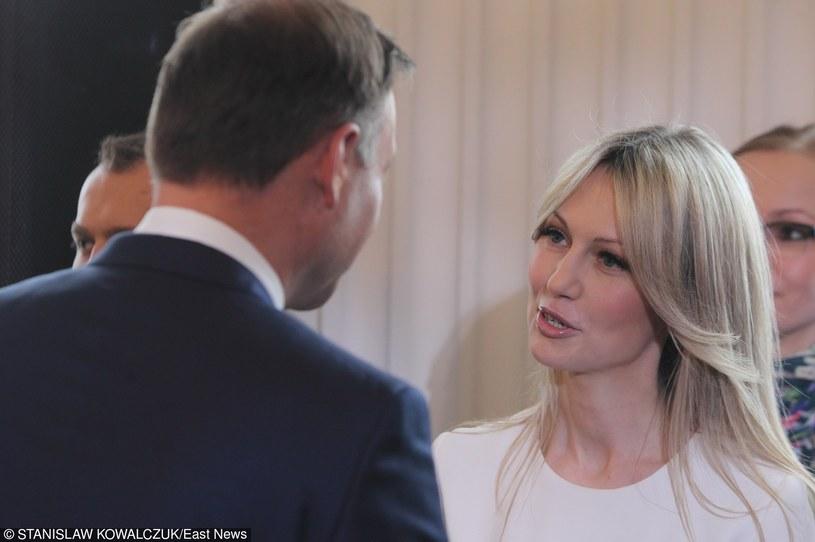 Andrzej Duda i Magdalena Ogórek /Stanisław Kowalczuk /East News