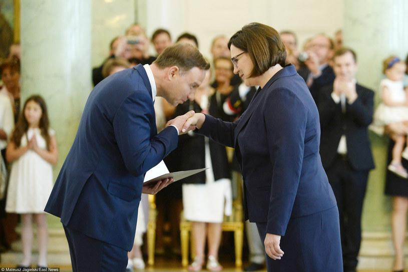 Andrzej Duda i Małgorzata Sadurska /Mateusz Jagielski /East News