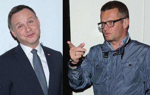 Andrzej Duda i Marcin Meller /- /MWMedia
