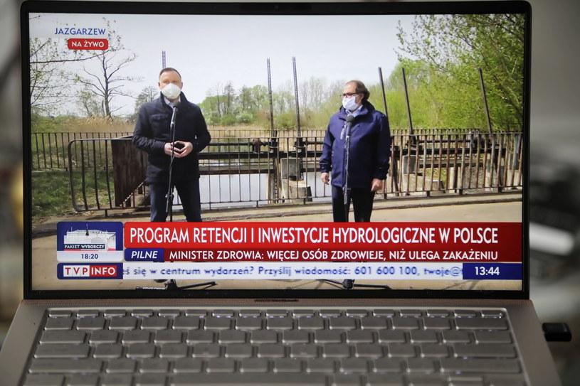 Andrzej Duda i Marek Gróbarczyk /Wojciech Olkuśnik /PAP/EPA