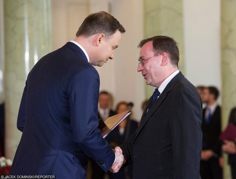 Andrzej Duda i Mariusz Kamiński /Jacek Domiński /East News