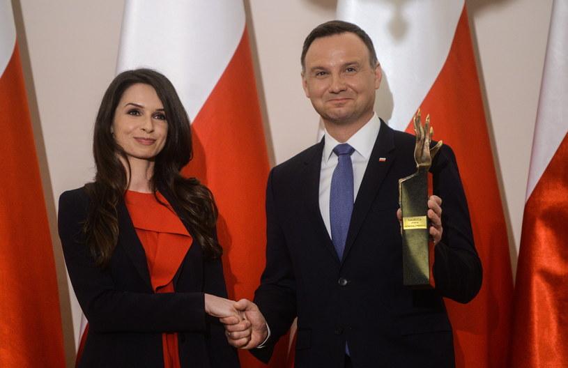 Andrzej Duda i Marta Kaczyńska /Jakub Kamiński   /PAP