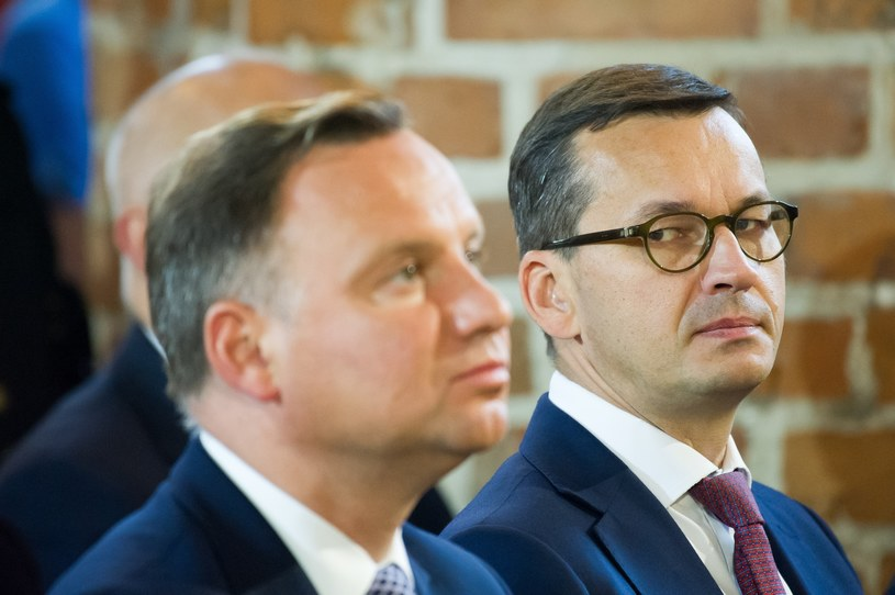 Andrzej Duda i Mateusz Morawiecki /Wojciech Stróżyk /Reporter