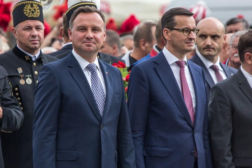 Andrzej Duda i Mateusz Morawiecki /Piotr Hukalo /East News
