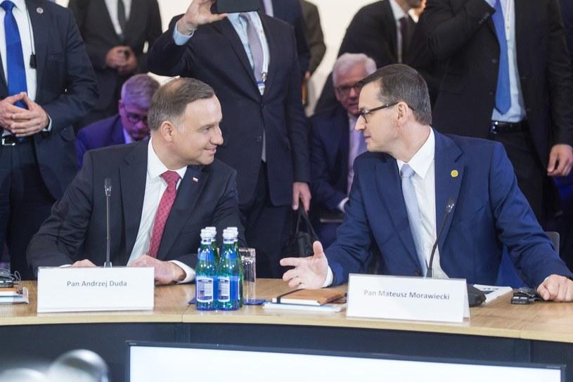 Andrzej Duda i Mateusz Morawiecki / Adam Jastrzebowski /Reporter