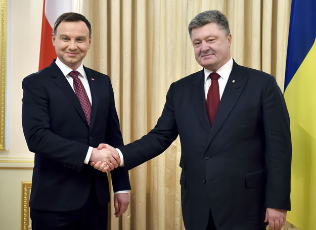 Andrzej Duda i Petro Poroszenko /Ukrafoto /East News