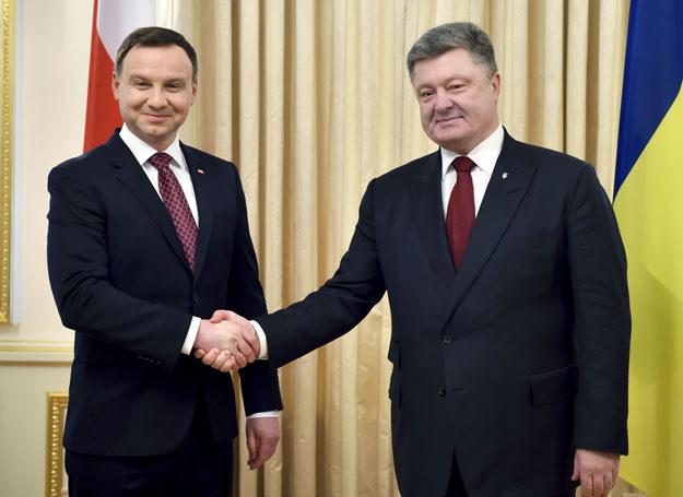 Andrzej Duda i Petro Poroszenko /East News