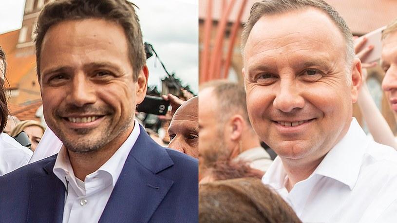 Andrzej Duda i Rafał Trzaskowski spotkają się między 27 a 31 lipca /Daniel Frymark/Mateusz Słodkowski /Agencja FORUM