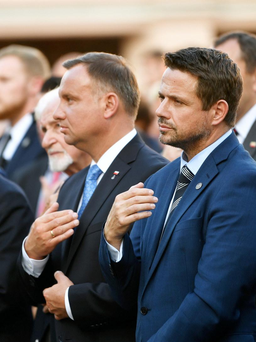Andrzej Duda i Rafal Trzaskowski /Bartlomiej Zborowski/East News /East News
