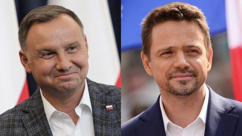 Andrzej Duda i Rafał Trzaskowski /Andrzej Hulimka/ Aleksiej Witwicki /Agencja FORUM