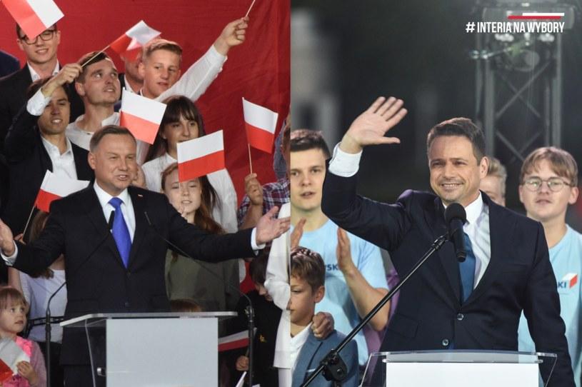 Andrzej Duda i Rafał Trzaskowski /Leszek Szymański/Radek Pietruszka /PAP