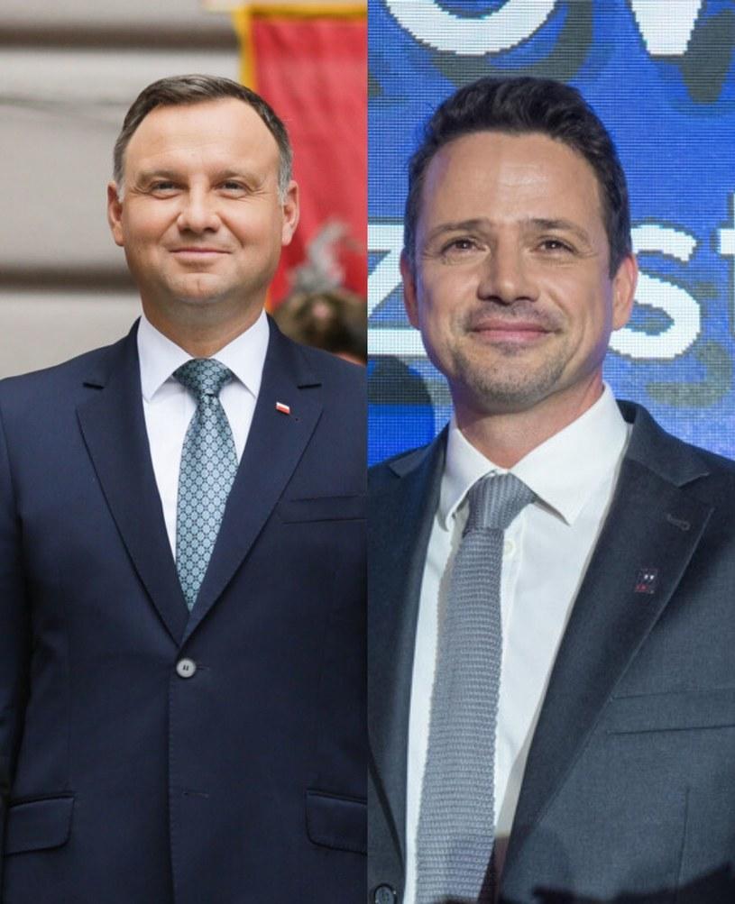 Andrzej Duda i Rafał Trzaskowski /East News /East News