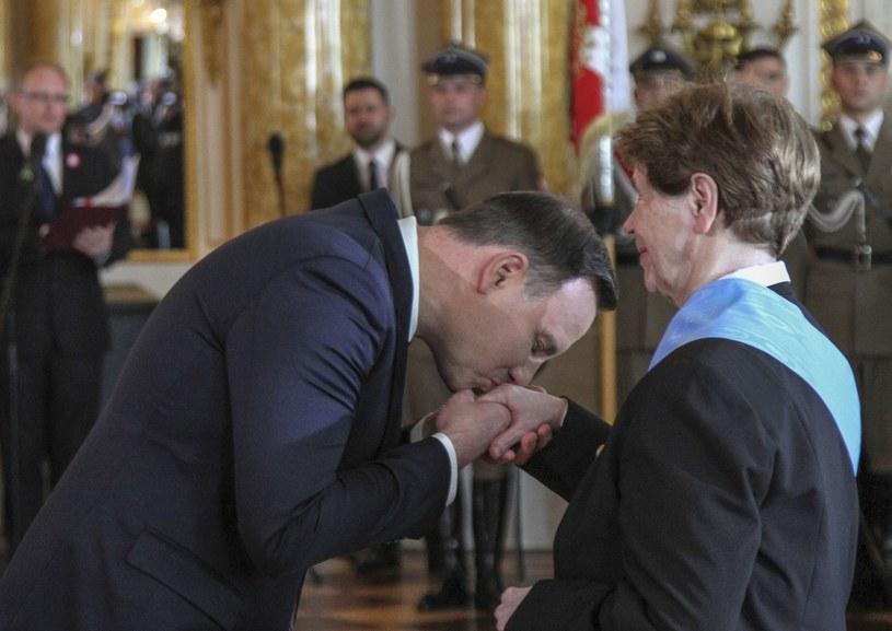 Andrzej Duda i Zofia Romaszewska /Leszek Fidusiewicz/REPORTER /East News