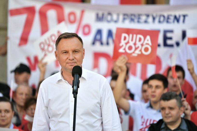 Andrzej Duda: Jestem absolutnym wrogiem cenzury w internecie / Maciej Kulczyński    /PAP