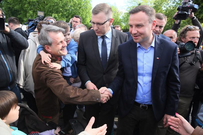 Andrzej Duda - kadydat PiS na prezydenta Polski /Tomasz Gzell /PAP