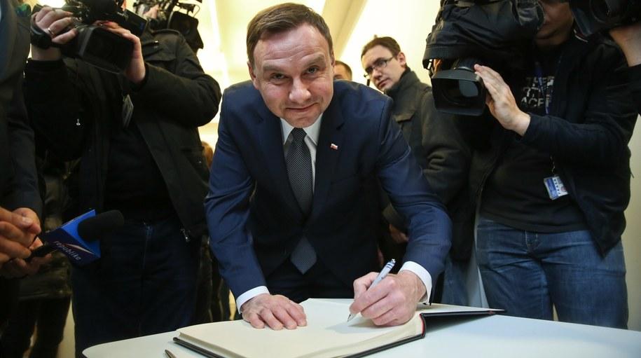 Andrzej Duda, kandydat Prawa i Sprawiedliwości na prezydenta Polski /PAP/Rafał Guz /PAP