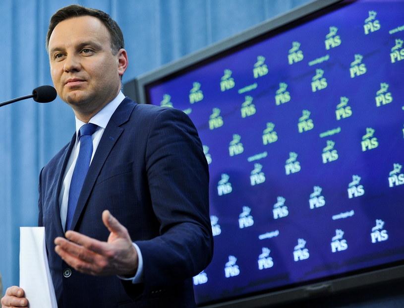 Andrzej Duda - kandydat Prawa i Sprawiedliwości na prezydenta /Marcin Obara /PAP