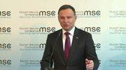 Andrzej Duda: Mówiąc o powrocie zimnej wojny, Rosja mówi o swoim działaniu