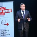 """Andrzej Duda: """"My nie przynależymy do Wschodu, tylko do Zachodu"""""""