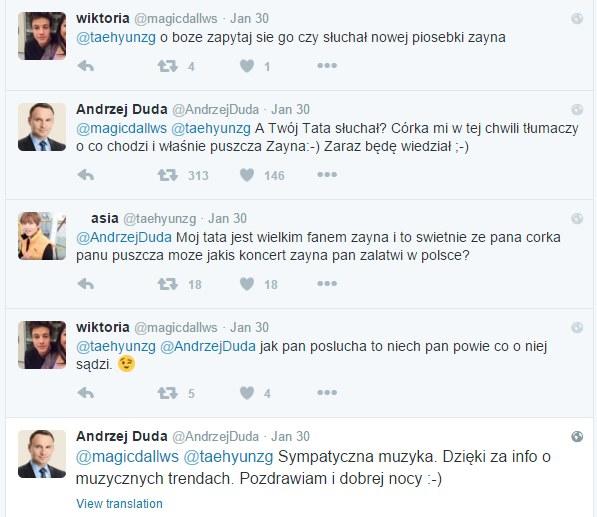 Andrzej Duda na Twitterze /