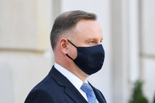 Andrzej Duda: Nie odczuwam symptomów, ale wynik testu jest jednocznaczy